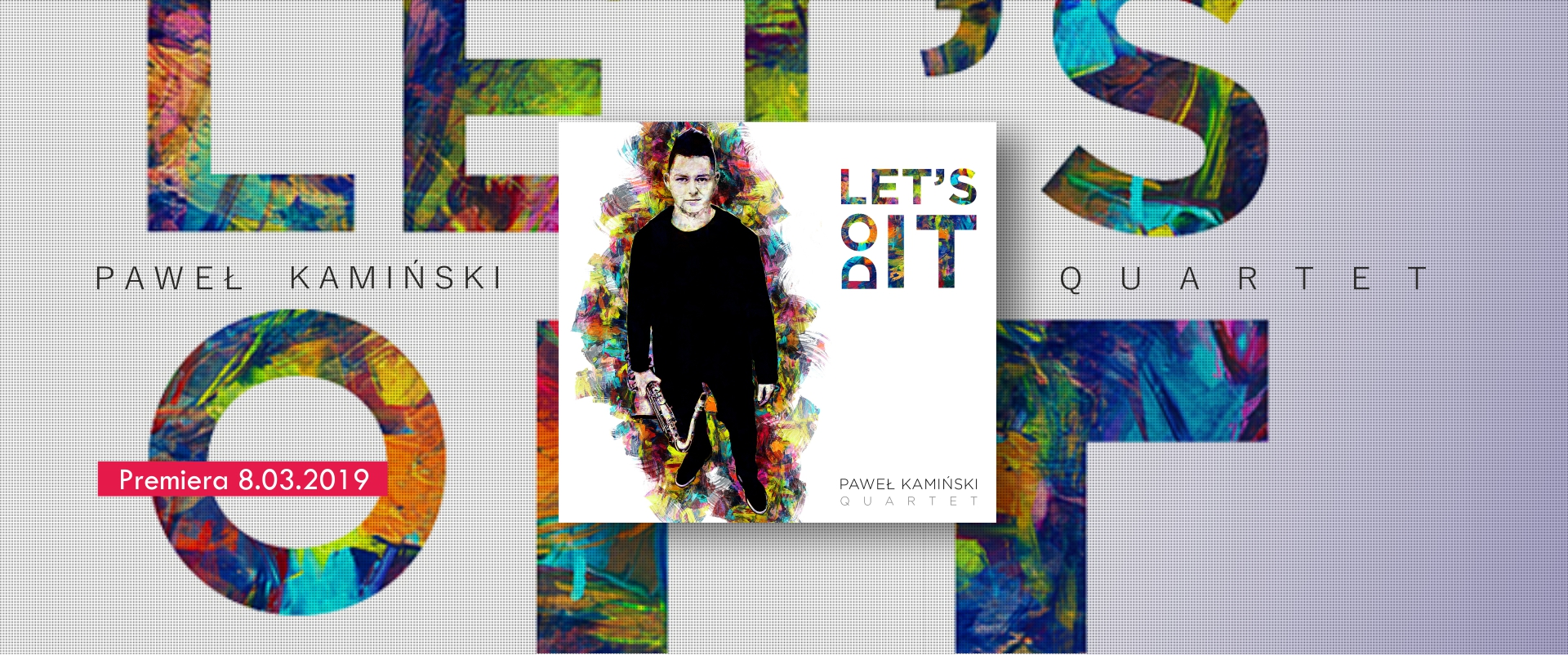 Paweł Kamiński Quartet - Let's Do It - cover